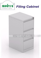 Filling Cabinet Modera MX 83 Grey