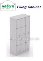 Locker 6 Pintu Modera ML 886 Grey