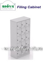 Locker 15 Pintu Modera ML 8815 Grey